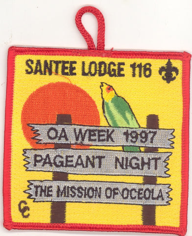 #116 Santee Lodge 1997 OA Week pp