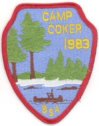 #116 Santee Lodge 1983 OA Week (Red Border Camp Coker) [CC214]