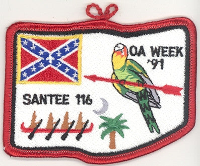 #116 Santee Lodge 1991 OA Week