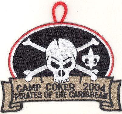 #116 Santee Lodge 2004 OA Week (red border Camp Coker)