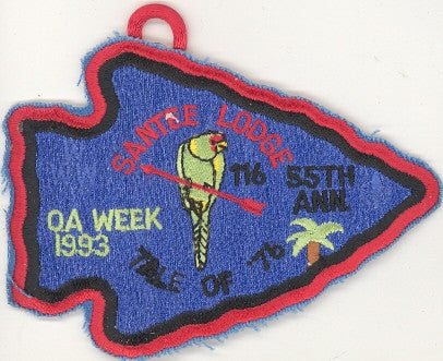 #116 Santee Lodge 1993 OA Week pp
