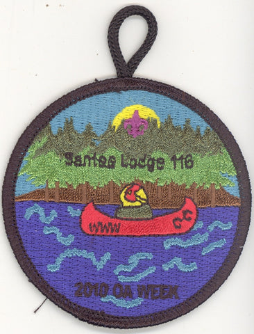 #116 Santee Lodge 2010 Summer Fellowship (says OA Week) - Scout Patch HQ
