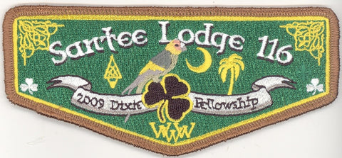 #116 Santee Lodge Flap S27 Dixie Leprachauns 2009 Issue - Scout Patch HQ