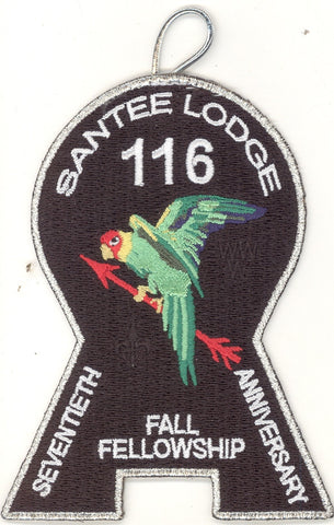 #116 Santee Lodge 2008 Fall Fellowship - Scout Patch HQ