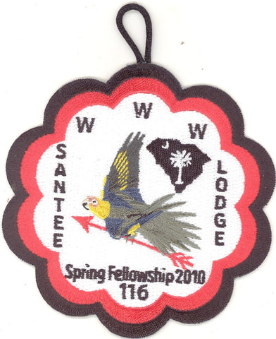 #116 Santee Lodge 2010 Spring Fellowship - Scout Patch HQ