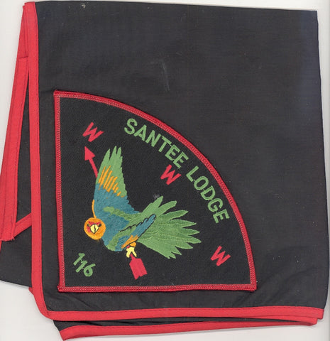 #116 Santee Lodge P1 Service Neckerchief 1994 Issue - Scout Patch HQ