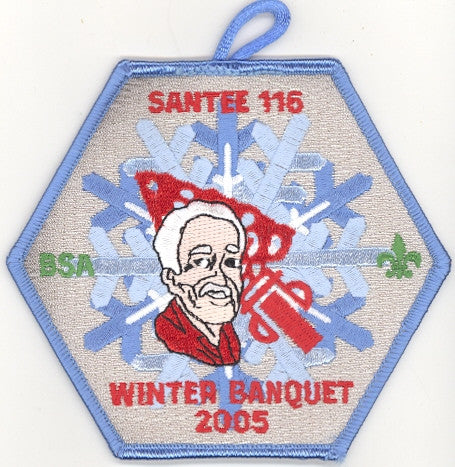 #116 Santee Lodge 2005 Winter Banquet - Scout Patch HQ