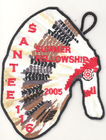 #116 Santee Lodge 2005 Summer Fellowship - Scout Patch HQ