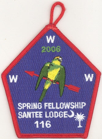 #116 Santee Lodge 2006 Spring Fellowship - Scout Patch HQ
