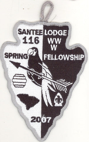 #116 Santee Lodge 2007 Spring Fellowship - Scout Patch HQ