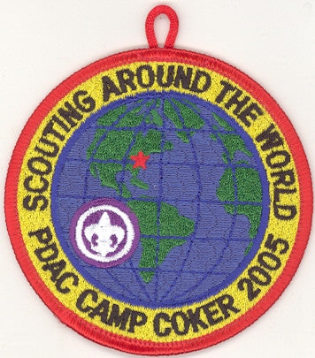 #116 Santee Lodge 2005 OA Week (red border Camp Coker) - Scout Patch HQ