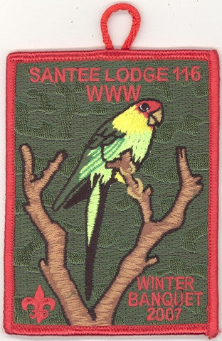 #116 Santee Lodge 2007 Winter Banquet - Scout Patch HQ