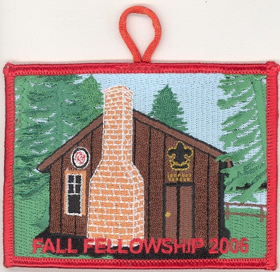 #116 Santee Lodge 2006 Fall Fellowship - Scout Patch HQ