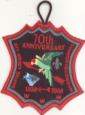 #116 Santee Lodge 2008 Summer Fellowship - Scout Patch HQ