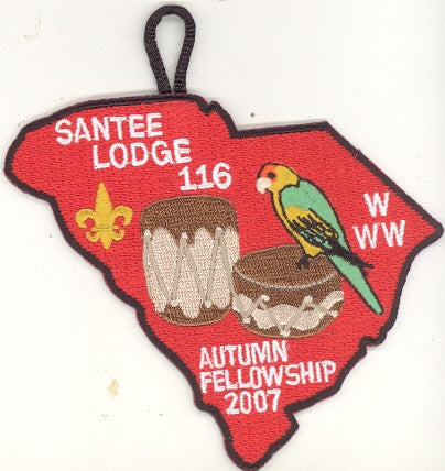 #116 Santee Lodge 2007 Autumn Fellowship - Scout Patch HQ