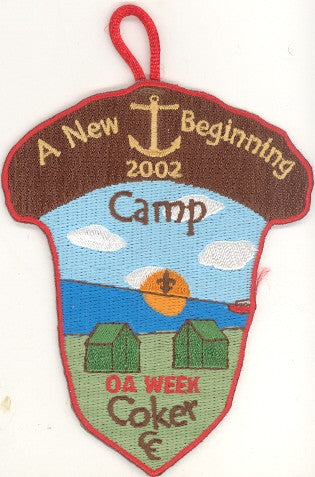 #116 Santee Lodge 2002 OA Week [CC292]
