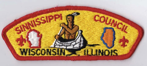 Sinnissippi Council WI & IL Red Border Plastic Backing FDL CSP ## CSP1175