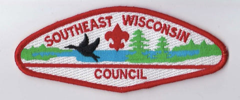 Southeast Wisconsin Council WI Red Border Plastic Backing FDL CSP ## CSP1190