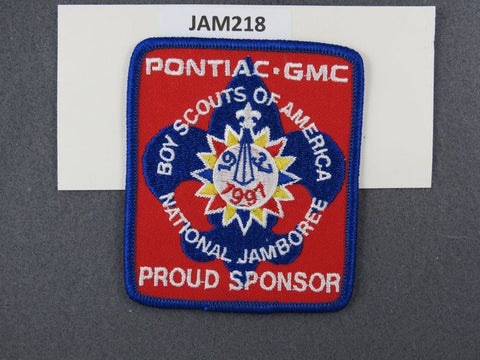1997 National Scout Jamboree Proud Sponsor Blue Border [JAM218]^^