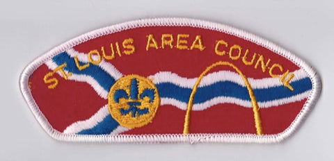 St. Louis Area Council MO White Border Plastic Backing FDL CSP ## CSP1224