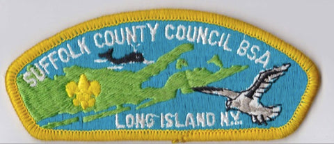 Suffolk County Council NY Yellow Border Plastic Backing FDL CSP ## CSP1228
