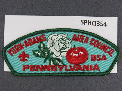 York - Adams Area Council Pennsylvania CSP Green Border - Scout Patch HQ