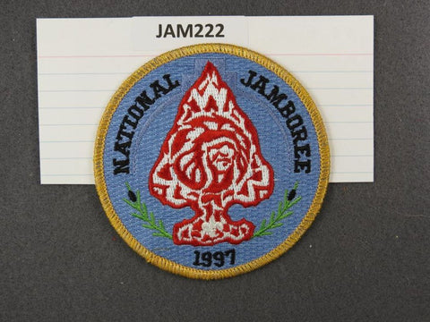 1997 National Scout Jamboree Yellow Border [JAM222]^^