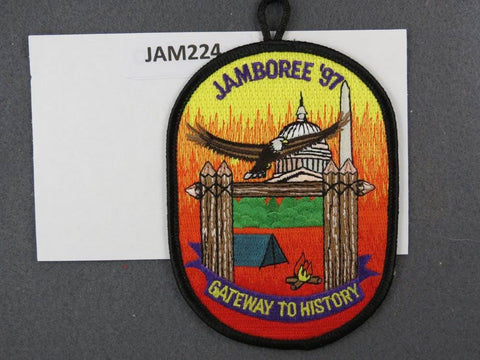 1997 National Scout Jamboree Gateway to History Black Border [JAM224]^^