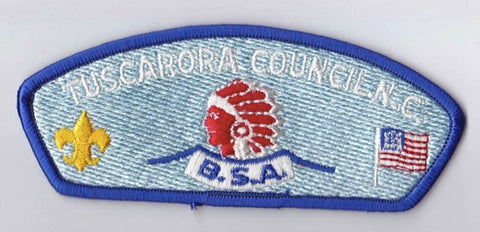 Tuscarora Council NC Blue Border Plastic Backing FDL CSP ## CSP1296