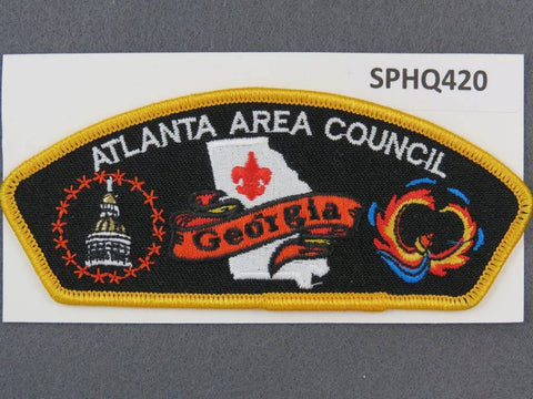 Atlanta Area Council CSP Yellow Border - Scout Patch HQ