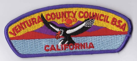 Ventura County Council CA Purple Border Plastic Backing Pre-FDL CSP ## CSP1313