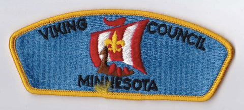 Viking Council MN Yellow Border Plastic Backing FDL CSP ## CSP1320