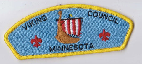 Viking Council MN Yellow Border Plastic Backing FDL CSP ## CSP1323