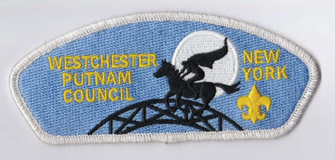 Westchester Putnam Council NY Grey Border BSA 2010 Backing FDL CSP ## CSP1350