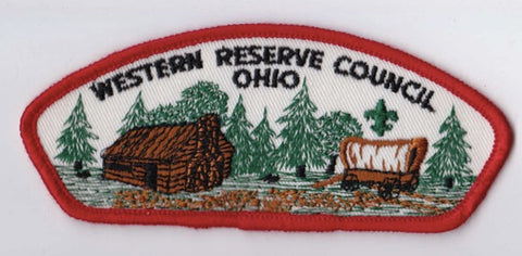Western Reserve Council OH Red Border Plastic Backing FDL CSP ## CSP1362