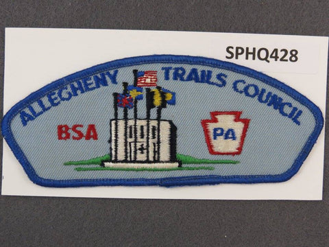 Allegheny Trails Council Pennsylvania CSP Blue Border - Scout Patch HQ