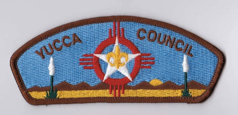 Yucca Council Brown Border Plastic Backing FDL CSP ## CSP1393