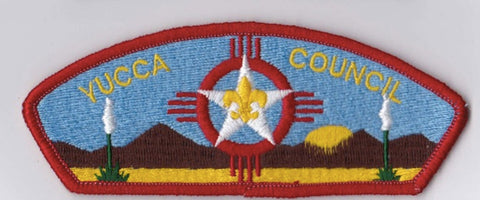 Yucca Council Brown Border Scout Stuff Backing FDL CSP ## CSP1394