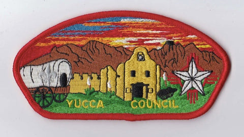 Yucca Council Red Border BSA 2010 Backing FDL CSP ## CSP1395
