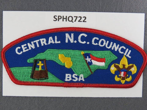 Central North Carolina  CSP Red Border [SPHQ722]##