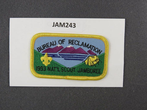 1997 National Scout Jamboree Bureau of Reclamation Yellow Border [JAM243]^^
