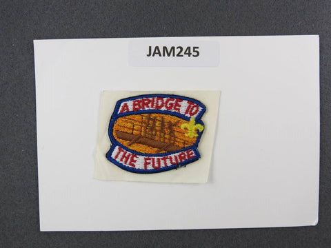 1993 National Scout Jamboree A Bridge to the Future Blue Border [JAM245]^^