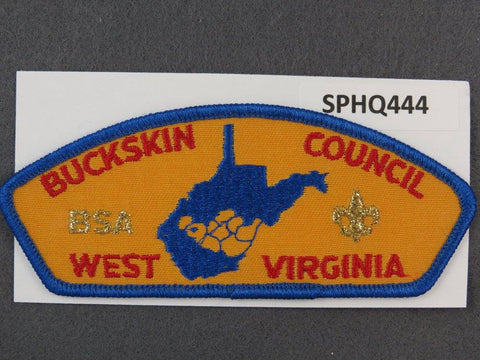 Buckskin Council West Virginia CSP Blue Border - Scout Patch HQ