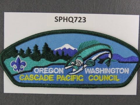 Cascade Pacific  Oregon Washington CSP Green Border [SPHQ723]##