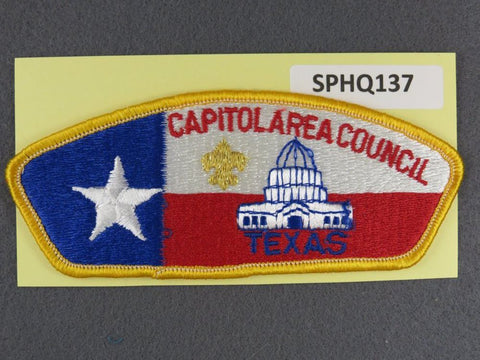Capitol Area  Texas CSP Gold Border [SPHQ137]##