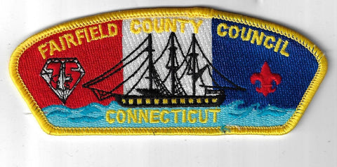 Fairfield County Council SAP S-5 Connecticut YEL Bdr. (CSI $10-15) Norwalk, CT [