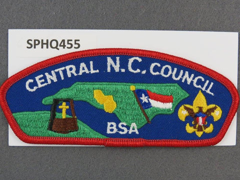 Central North Carolina  CSP Red Border [SPHQ455]##