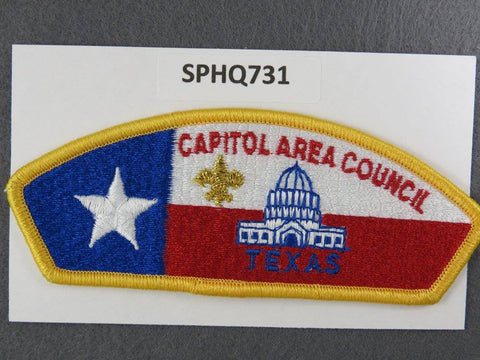Capitol Area  Texas CSP Gold Border [SPHQ731]##
