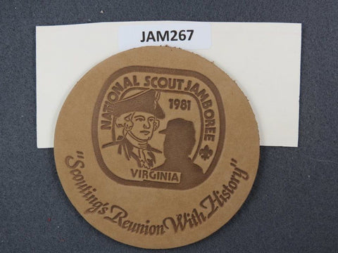 1981 National Scout Jamboree Spirit Remains with History [JAM267]^^
