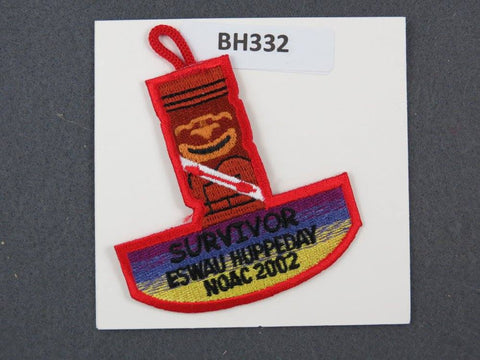 OA Lodge # 560 Eswau Huppeday Flap 2002 Dangle Piedmont Area  [BH332]**